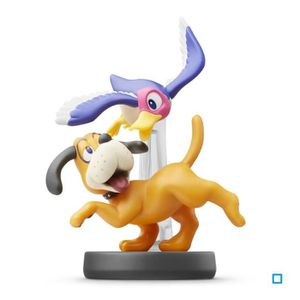 FIGURINE DE JEU Figurine Amiibo Duo Duck Hunt Collection Super Sma