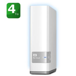 SERVEUR STOCKAGE - NAS  WD My Cloud-NAS/Cloud Personnel - 4To WDBCTL004HWT