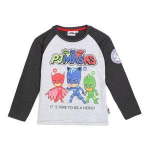 T-SHIRT PYJAMASKS T-Shirt Gris Fantaisie Enfant Garçon