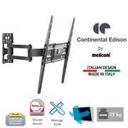 FIXATION - SUPPORT TV CONTINENTAL EDISON Support TV orientable TV 40-65'
