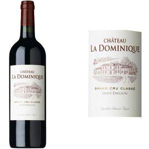 VIN ROUGE Château La Dominique Grand Vin de Bordeaux 2014 -