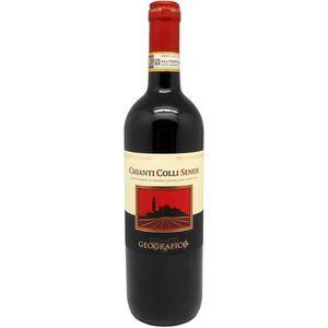 VIN ROUGE Geografico Chianti Colli Senesi - Vin rouge d'Ital
