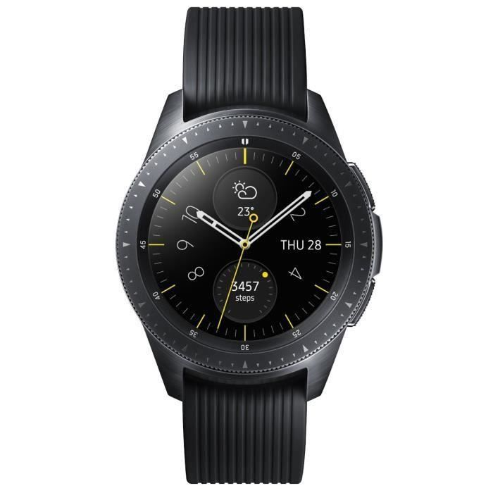 MONTRE CONNECTÉE Samsung Galaxy Watch Noir Carbone