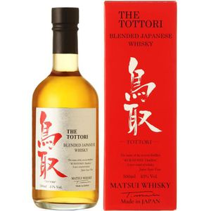 WHISKY BOURBON SCOTCH Tottori Whisky Japonais Blended 43% 50 cl