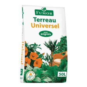 TERREAU - SABLE FUMOR Terreau Universel - 50 L