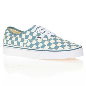 UA Authentic, Baskets Basses Homme, Turquoise (Decay Palms), 42 EUVans