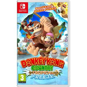 JEU NINTENDO SWITCH Donkey Kong Country : Tropical Freeze Jeu switch