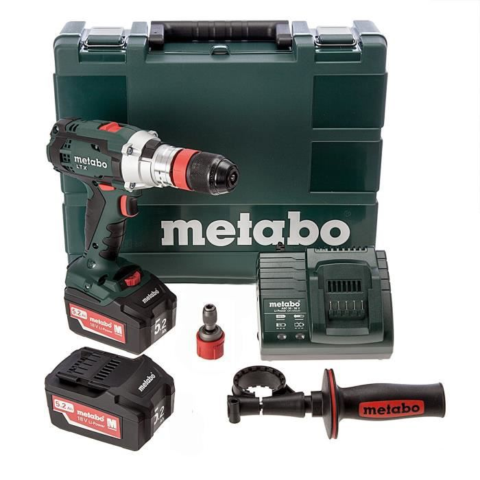 Metabo perceuse visseuse percussion 18v 4ah liion