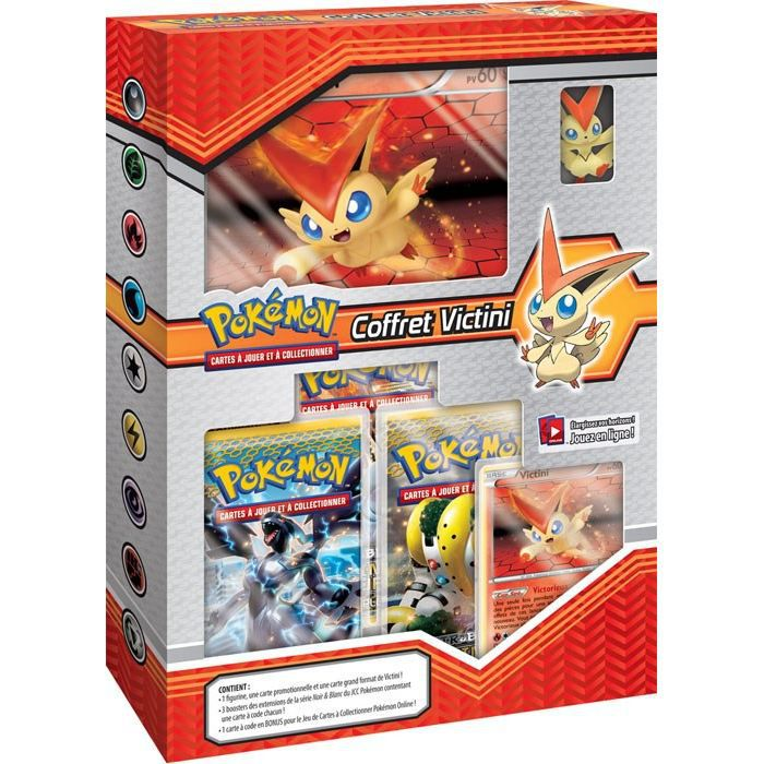 coffret pokemon victini figurine achat vente figurine personnage cdiscount. Black Bedroom Furniture Sets. Home Design Ideas