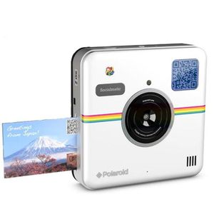 polaroid socialmatic appareil photo instantan num rique achat vente appareil photo. Black Bedroom Furniture Sets. Home Design Ideas