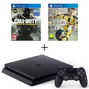 playstation 4 blanche achat vente playstation 4 blanche pas cher cdiscount. Black Bedroom Furniture Sets. Home Design Ideas