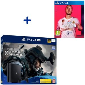 CONSOLE PS4 Pack PlayStation : PS4 Pro 1To Noire + Call of Dut