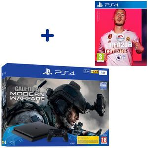 CONSOLE PS4 Pack PlayStation : PS4 Slim 1To Noire + Call of Du
