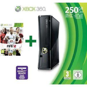 CONSOLE XBOX 360 XBOX 360 250 Go + MANETTE + FIFA 12