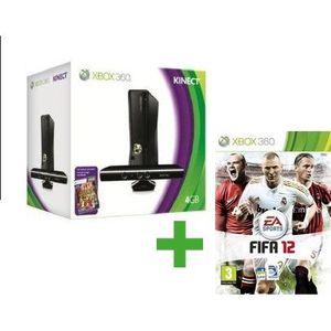 CONSOLE XBOX 360 XBOX 360 4 Go KINECT + FIFA 12
