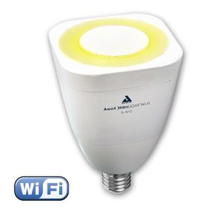 AMPOULE INTELLIGENTE AWOX LIGHT Ampoule LED E27 WiFi son et lumière ave