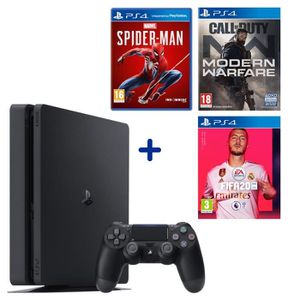 CONSOLE PS4 PS4 Slim 500 Go + Call Of Duty Modern Warfare + Ma