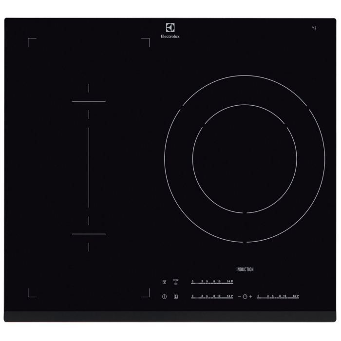 electrolux e6113ifk table de cuisson 3 zones dont 1 double zone achat vente plaque induction. Black Bedroom Furniture Sets. Home Design Ideas