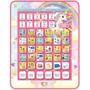 TABLETTE ENFANT LEXIBOOK - Tablette Educative & Bilingue Licorne-J