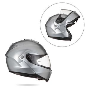 CASQUE MOTO SCOOTER HJC ISMAX II CR Casque Modulable Silver