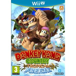 JEUX WII U Donkey Kong Country: Tropical Freeze Jeu Wii U