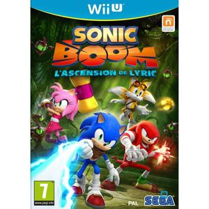 JEUX WII U Sonic Boom : l'Ascension de Lyric Jeu Wii U