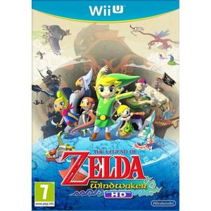 JEUX WII U The Legend of Zelda: The Windwaker HD Jeu Wii U