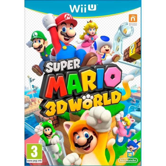 JEUX WII U Super Mario 3D World Jeu Wii U
