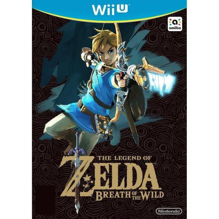 JEU WII U The Legend of Zelda : Breath of the Wild Jeu Wii U