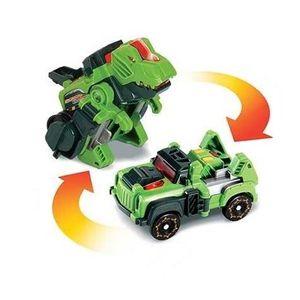 ROBOT - ANIMAL ANIMÉ Switch & Go Dinos Mini - Silex, Le T-Rex (Jeep)