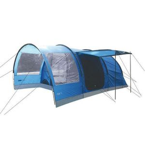 TENTE DE CAMPING HIGHLANDER Tente Familiale Tunnel Oak 4 Bleu
