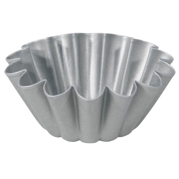 MOULE  IMF Moule à brioche en acier aluminé Steel - Ø 10