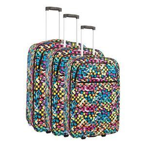 SET DE VALISES COMPAGNIE DU BAGAGE - Lot de 3 valises 49/59/69cm