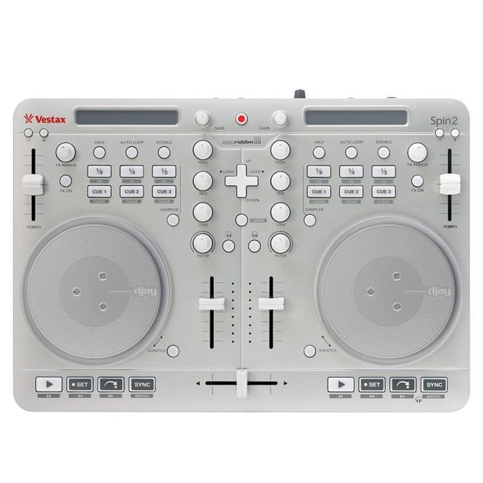 vestax spin2 contr leur midi platine dj avis et prix. Black Bedroom Furniture Sets. Home Design Ideas