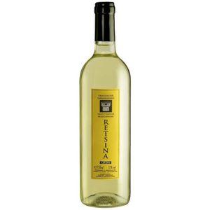 VIN BLANC RETSINA Vin de Grèce - Blanc 75 cl