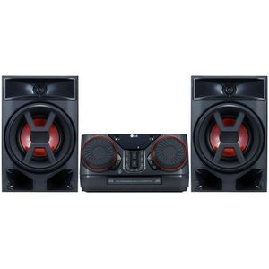 CHAINE HI-FI LG CK43 Mini chaine Hi-Fi Bluetooth et effet DJ -