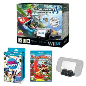CONSOLE WII U Wii U Mario Kart 8 + Sing Party + Microphone + Pap