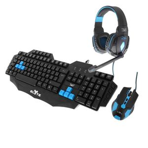 PACK CLAVIER - SOURIS T'nB Pack Gaming : clavier, souris, casque