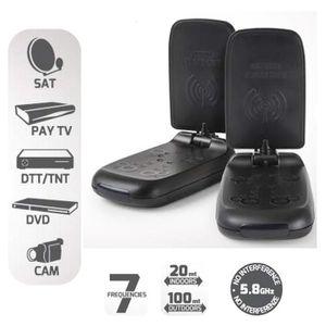 Récepteur audio MELICONI AV100 Mini transmetteur audio-vidéo sans