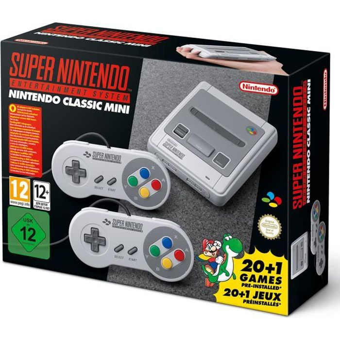 CONSOLE RÉTRO Nintendo Classic Mini : Super Nintendo Entertainme