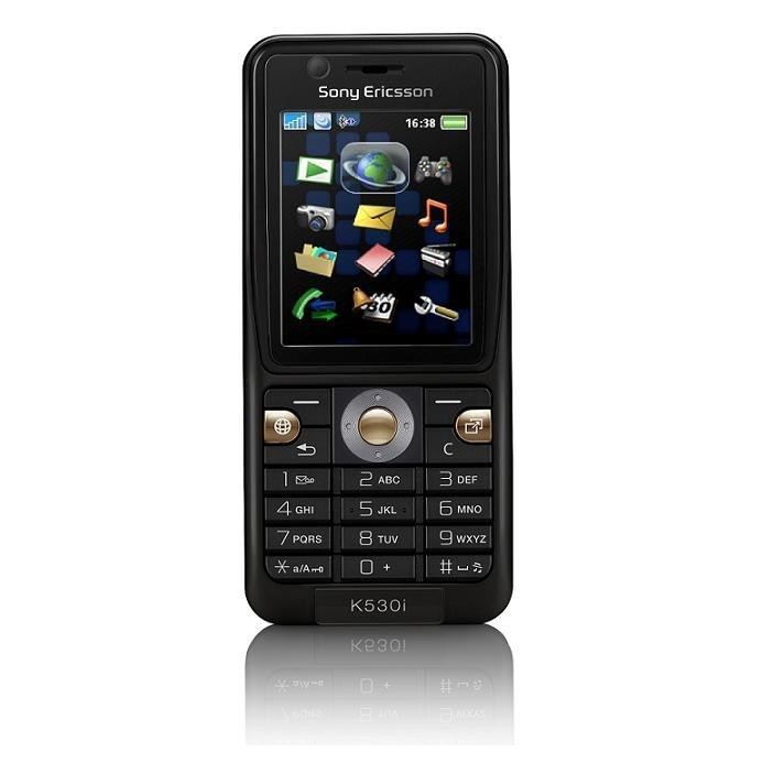sony ericsson k530i achat t l phone portable pas cher. Black Bedroom Furniture Sets. Home Design Ideas