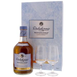 WHISKY BOURBON SCOTCH Dalwhinnie - Winter's Gold - Whisky - 2 Verres - 7