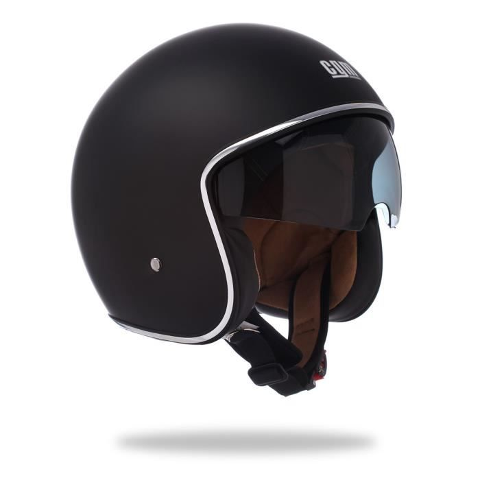 casque jet scooter moto 133a vintage achat vente. Black Bedroom Furniture Sets. Home Design Ideas