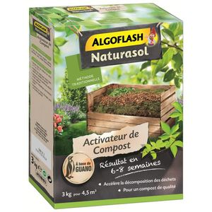ENGRAIS ALGOFLASH NATURASOL Activateur de compost à base d