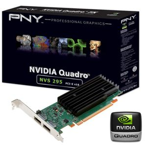 CARTE GRAPHIQUE INTERNE PNY NVIDIA Quadro NVS 295