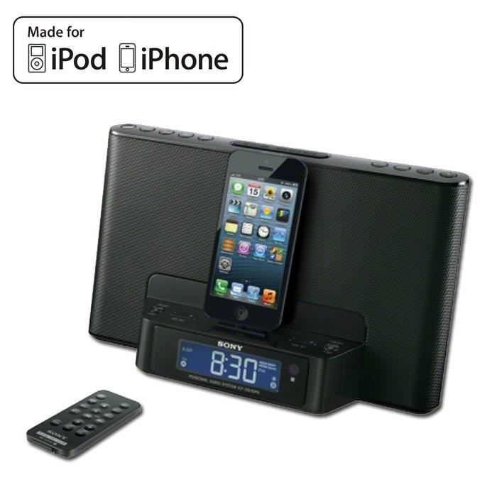 STATION D'ACCUEIL SONY ICFDS15IP Noir Dock iPod / iPhone Lightning