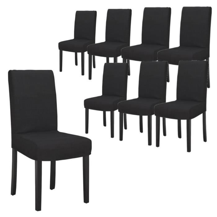 chaise salle a manger pas cher lot de 8 table de lit. Black Bedroom Furniture Sets. Home Design Ideas