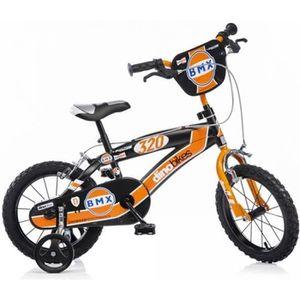 VÉLO ENFANT DINOBIKES Vélo BMX Enfant garçon - 14'' - 4/7 ans