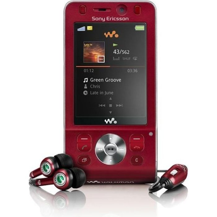 sony ericsson w910i achat t l phone portable pas cher. Black Bedroom Furniture Sets. Home Design Ideas
