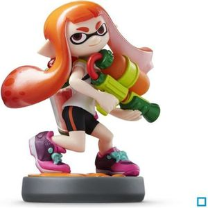 FIGURINE DE JEU Figurine Amiibo Splatoon Girl Collection Splatoon